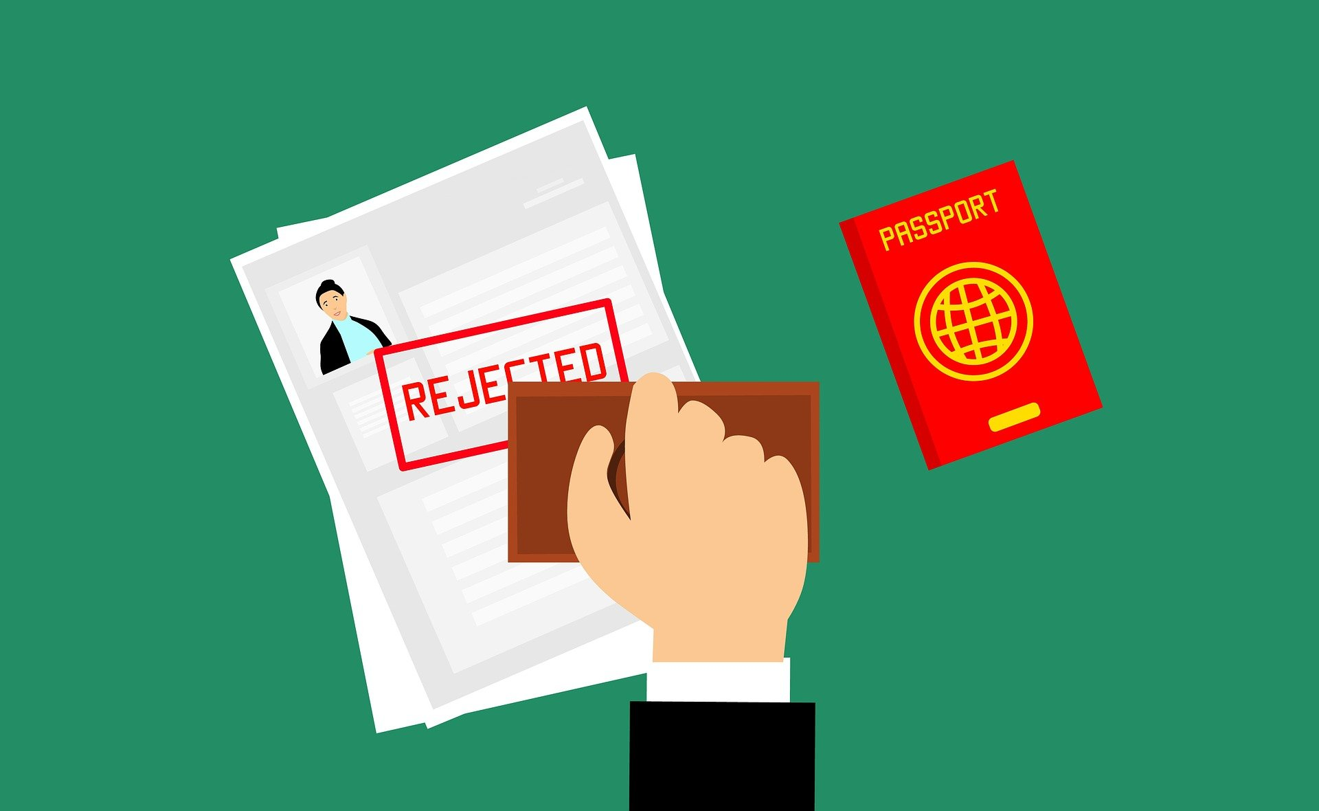 Rejected Singapore Employment Pass Application